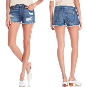 NWT Joe's Cut Off Frayed Phoebe Shorts